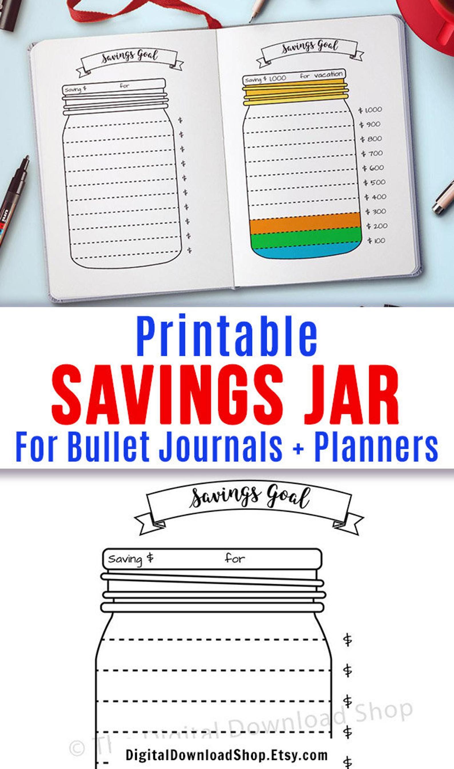picture relating to Savings Jar Printable identify Bullet Magazine Price savings Jar Printable, Mason Jar Cost savings