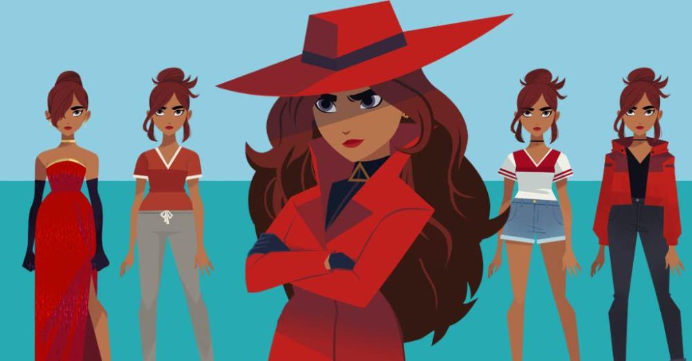 Carmen And Gray Carmen Sandiego Google Search Carmen Sandiego Disney Characters San Diego