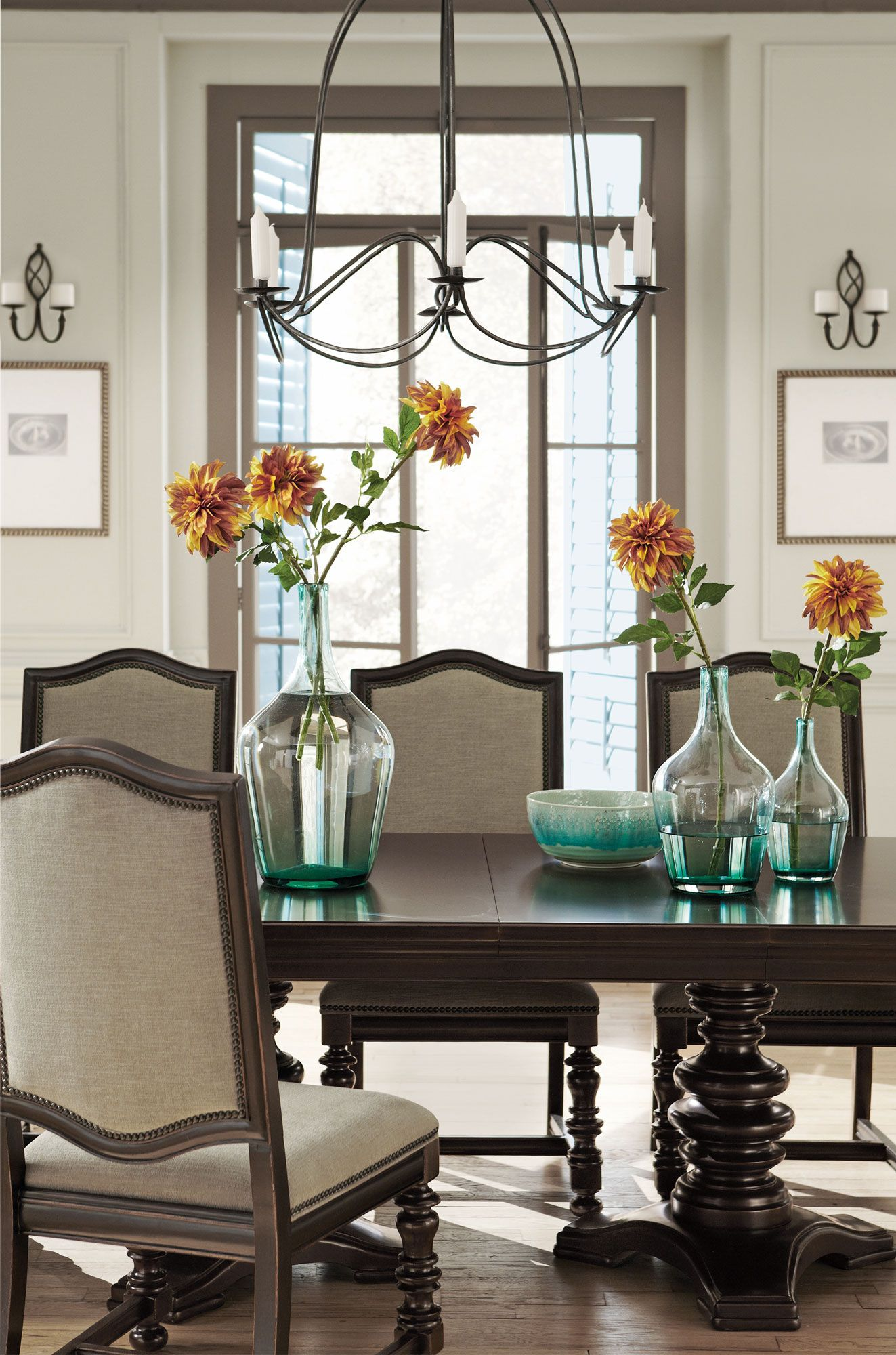 Pacific Canyon Dining Table  Bernhardt  Formal Dining Room Impressive Bernhardt Dining Room Set Review