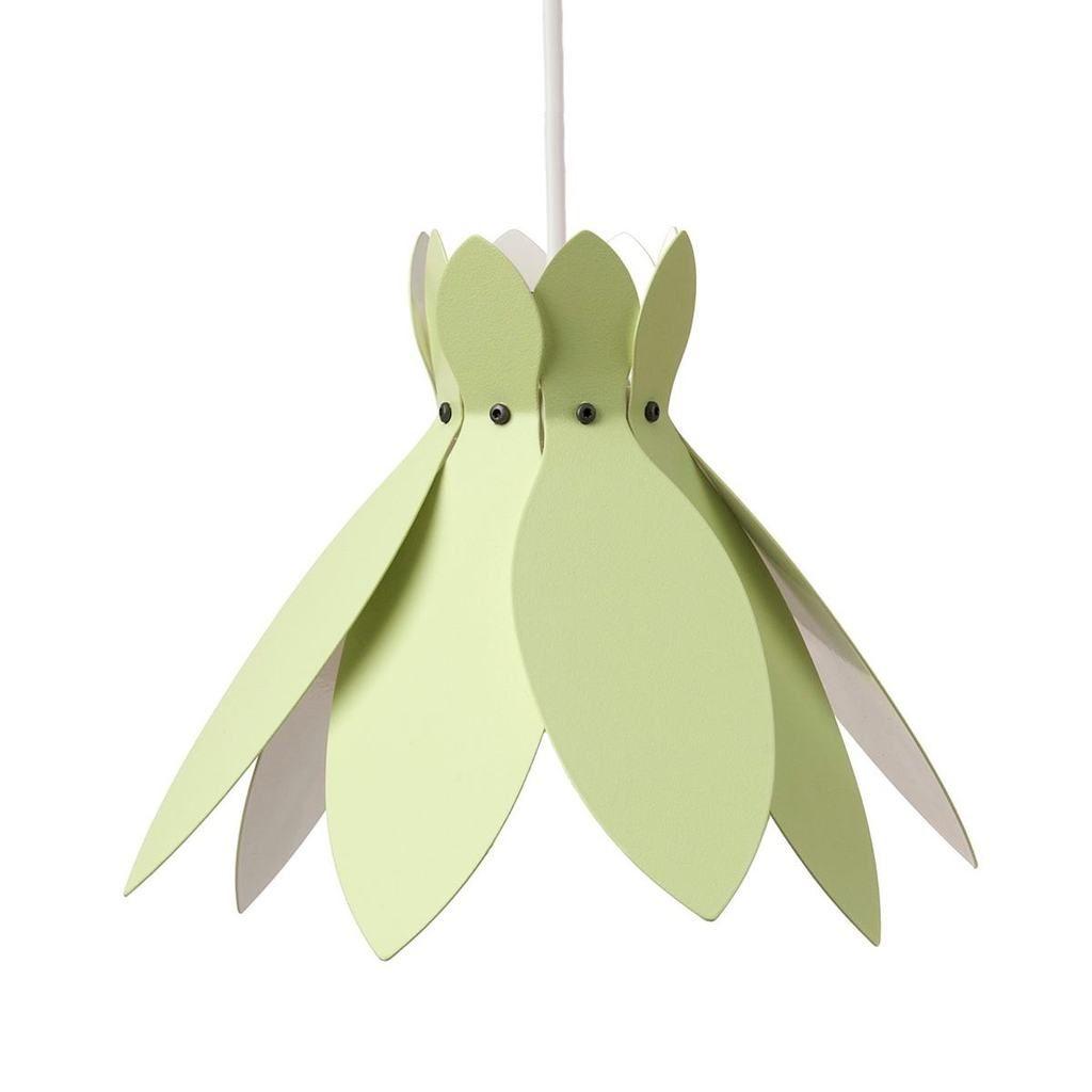 Ljusgrön taklampa, modell 40 #näckros #taklampa