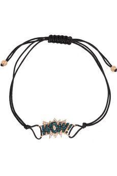 Diane Kordas WOW! 18-karat rose gold diamond bracelet | NET-A-PORTER