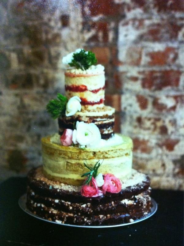 Momou Milk Bar Wedding Cake