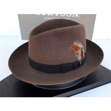 dbcf75b348b20 Stetson Dress Hat Royal Quality Fur Felt Sutley Walnut | Cowboy Hats ...