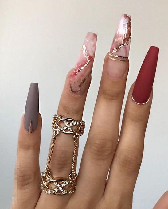 Photo of 60+ Best Stunning Marble Coffin Nails Inspirational Ideas You Must Try – Page 20…