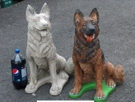 Superieur Concrete Dog Statues | Unique Lawn Garden Statues