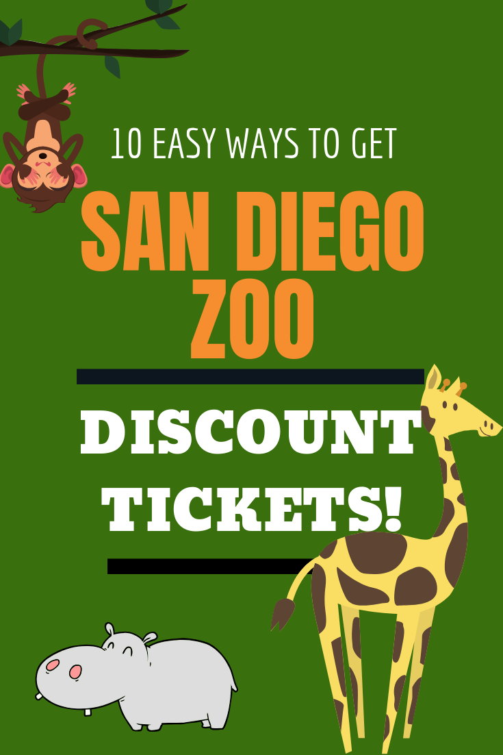 10 Ways To Score San Diego Zoo Discount Tickets The San Diego Zoo Has Been Voted The 1 Zoo In America By Tripadvis San Diego Zoo San Diego San Diego Travel