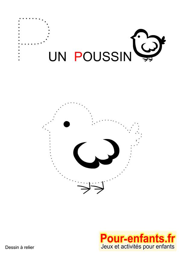 jeux imprimer maternelle jeu dessins a relier enfants de maternelle imprimer gratuitement dessin de poussin - Jeux Gratuit De Dessin