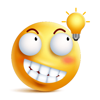 Lightbulb In 2020 Emoticon Lion Pictures Smiley