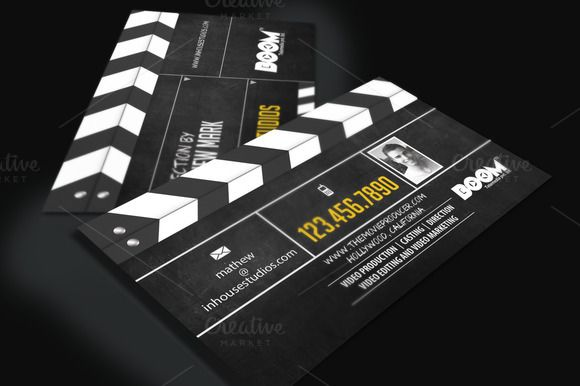 movie producer director biz card by sherman jackson on