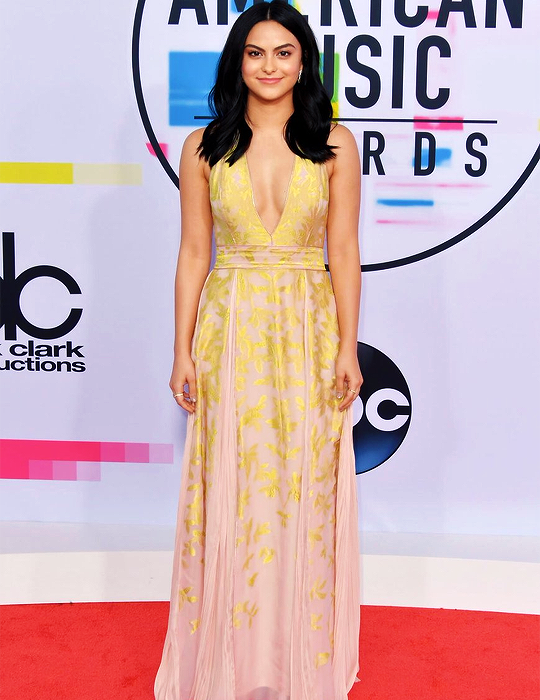 Camila Mendes on the 2017 AMA Red Carpet  34bc4fbe355
