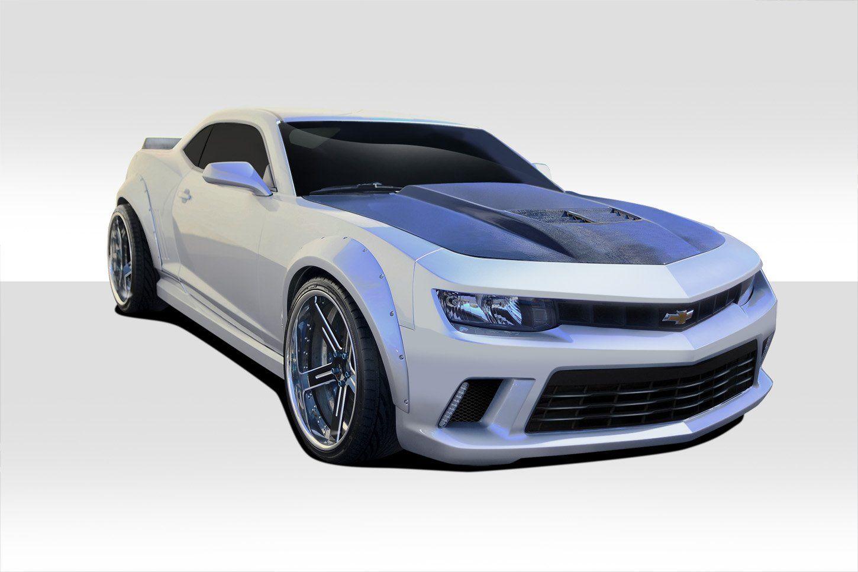 2010 2015 Chevrolet Camaro Duraflex Gt Concept Wide Body Kit 4