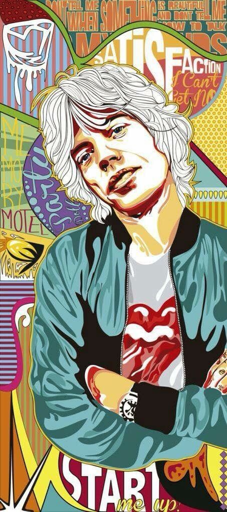 Pin By Ririn Ekarianti On Music Art Rock Posters Rolling Stones Concert Posters