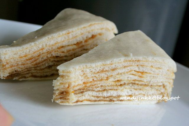 Table for 2 or more Layered Kaya Steamed Cake - Filled Baos # 1 - imagenes de baos