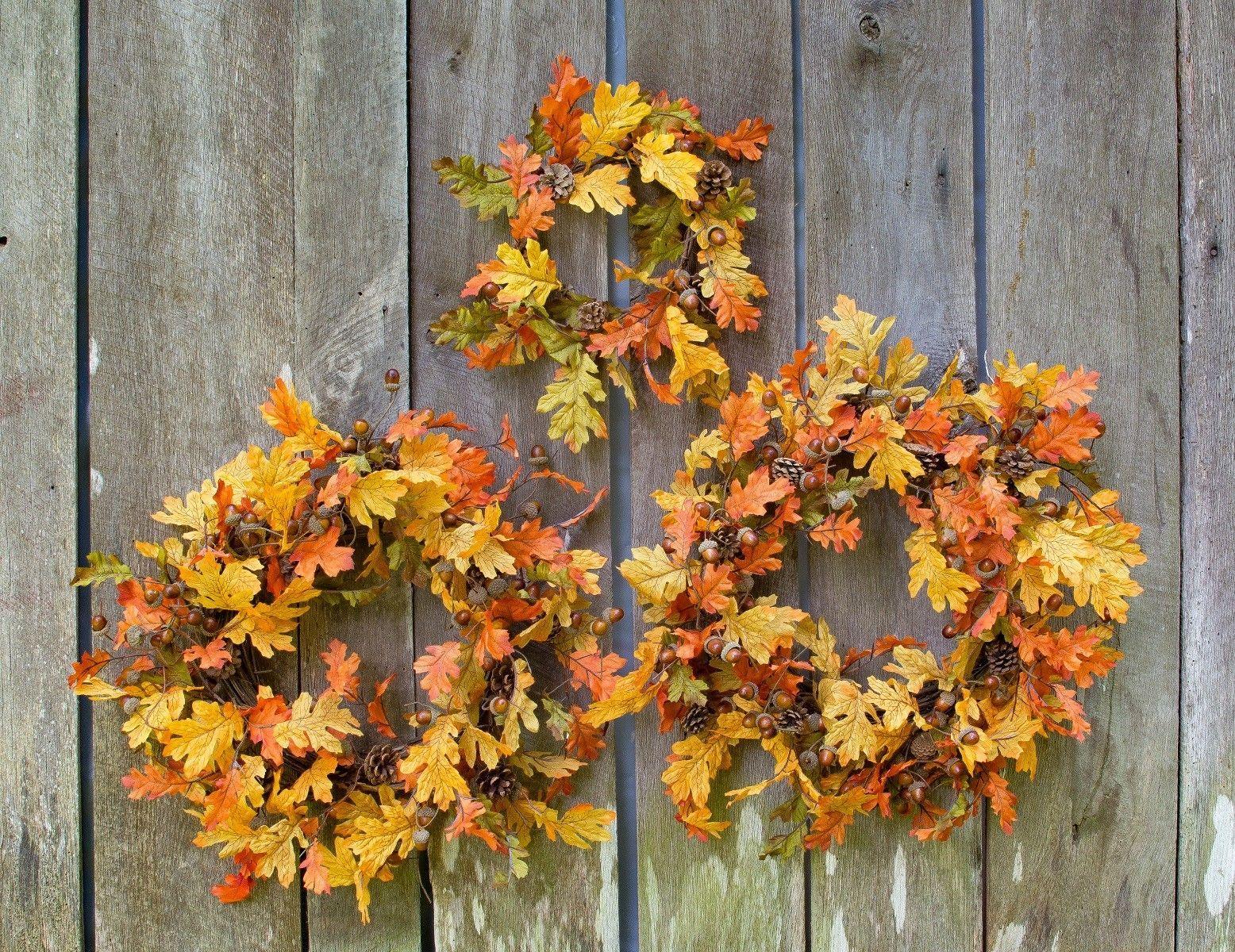 """20"""" Oak Wreath"""