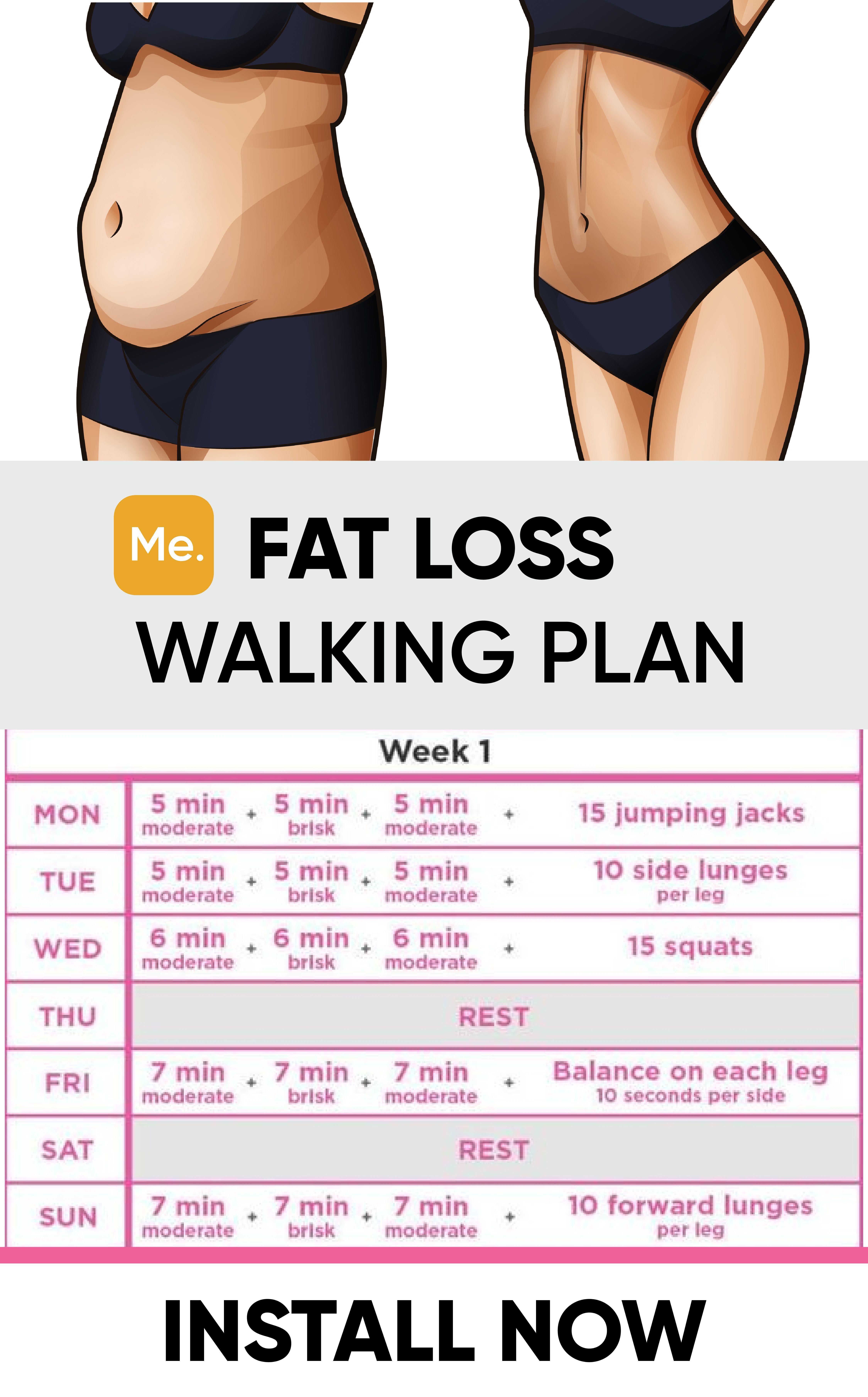 Wöchentliche Fitness-Routine, um Gewicht zu verlieren