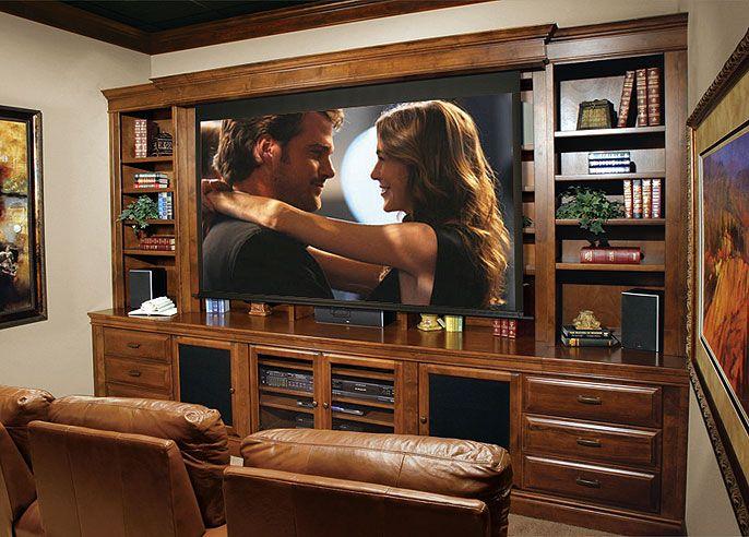 Cinema Bookcase Stone Creek Furniture Cinema Room Movie Room