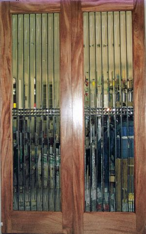 Art Glass By Wells Custom Beveled And Leaded Glass Interior Doors