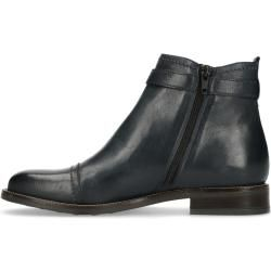 Photo of Dunkelblaue Chelsea Boots mit Schnalle (36,37,38,39,40,41,42) Manfield