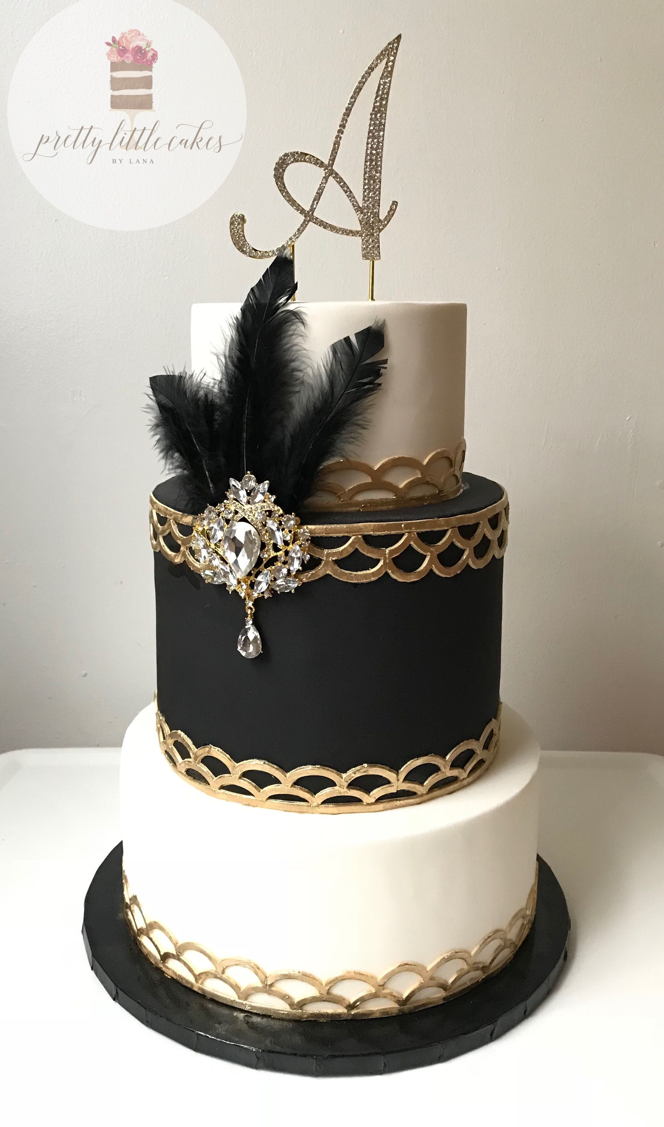 gold cake decorations amazon