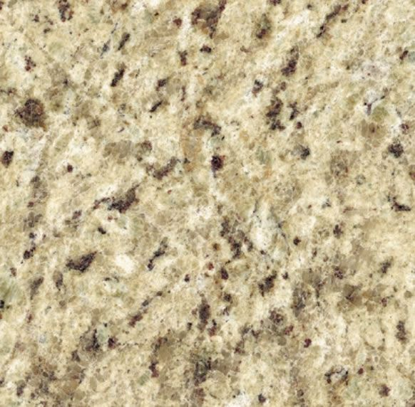 Kitchen Perimeter Countertops And Island Granite Giallo Ornamental With 1 4 Bevel Giallo Ornamental Granite Granite Countertops Granite Countertops Kitchen