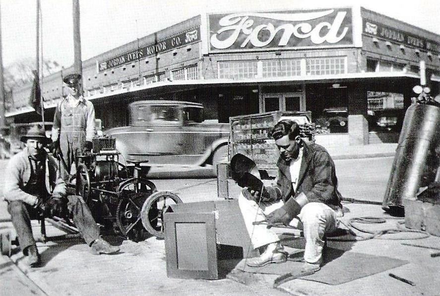 parts san antonio Vintage auto