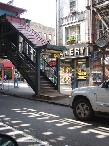 My old stomping ground, Astoria, NY. I lived not far from Broadway station
