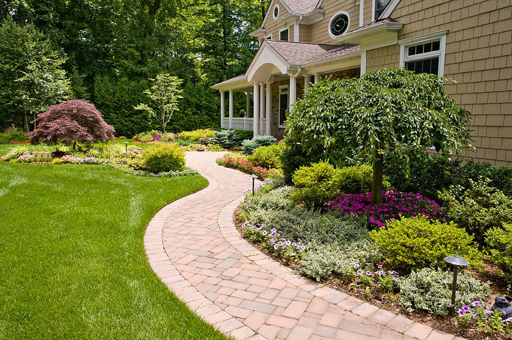 Best Front Yard Landscape Design Company In Bergen County New Jersey
