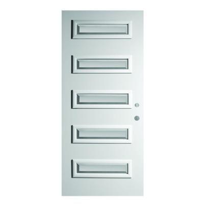Stanley Doors 37375 In X 82375 In Ruth Satin Opaque 5 Lite