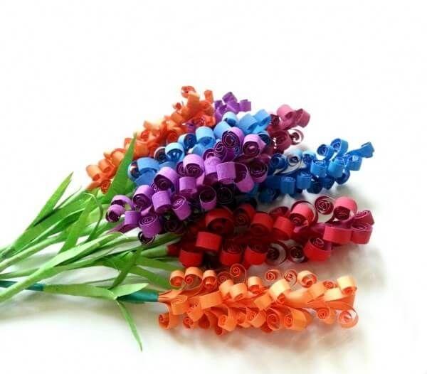 Cara Membuat Bunga Dari Kertas Tisu Dan Origami Yang Mudah Praktis Dan Hasil Yang Cantik Bi Construction Paper Crafts Paper Flowers Diy Paper Flower Tutorial