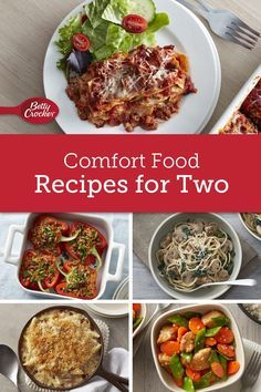 Comfort Food Recipes Perfect for Two images