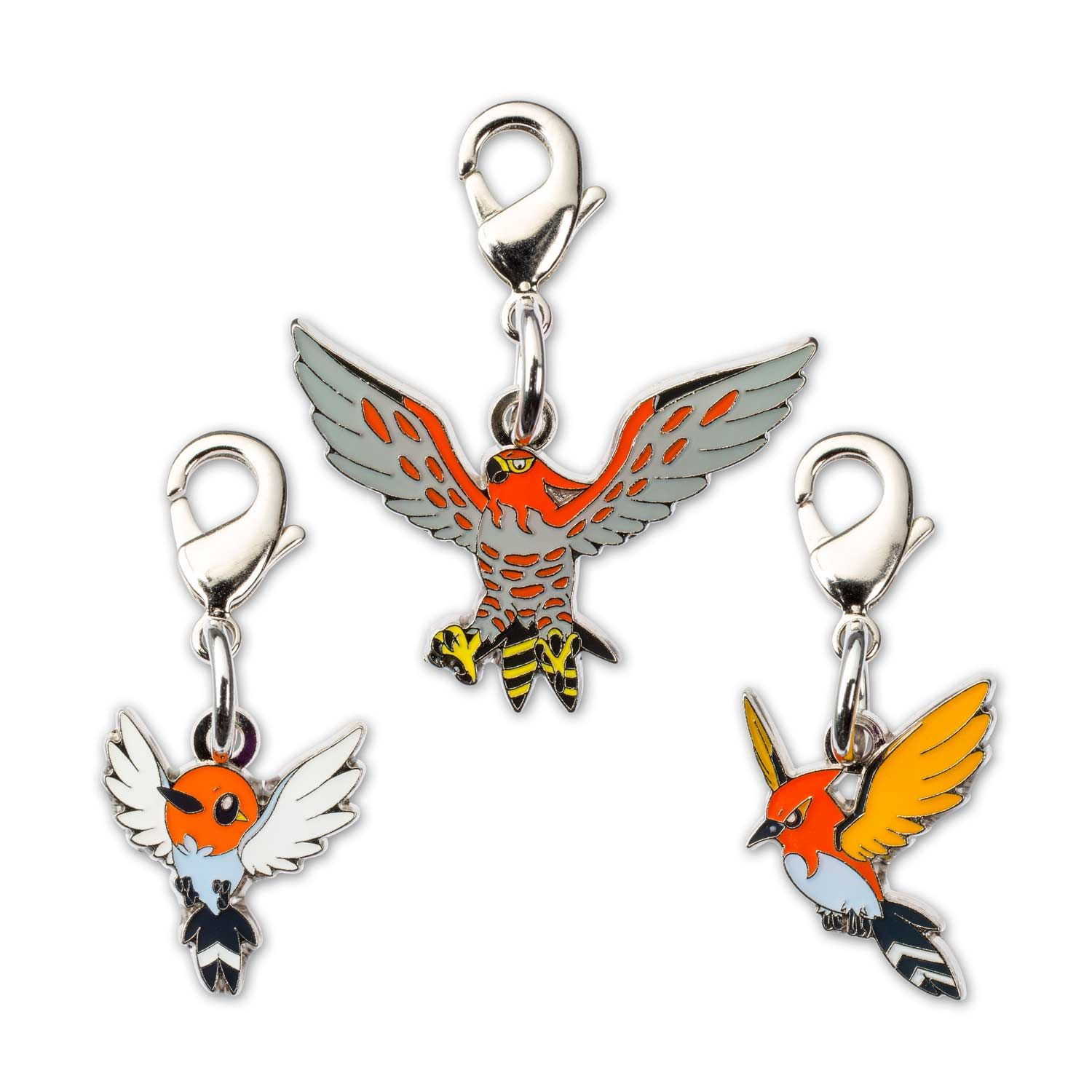 Pokemon coloring pages talonflame - Official Pok Mon Minis Evo 3 Pack Includes Fletchling Fletchinder And Talonflame Pok Mon Center