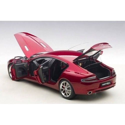 Autoart 1 18 Scale 2017 Aston Martin Rapide S Diavolo Red Cast Car Model