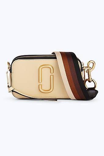 7c6e6e65e417 Marc Jacobs Snapshot Camera Bag in Biscuit Multi