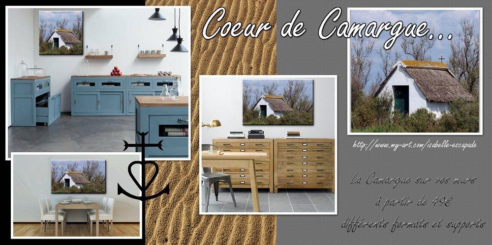Coeur de Camargue... http://www.my-art.com/isabelle-escapade/collections/provence