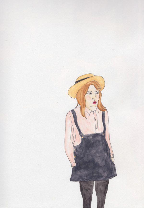 watercolour. Gabby Love