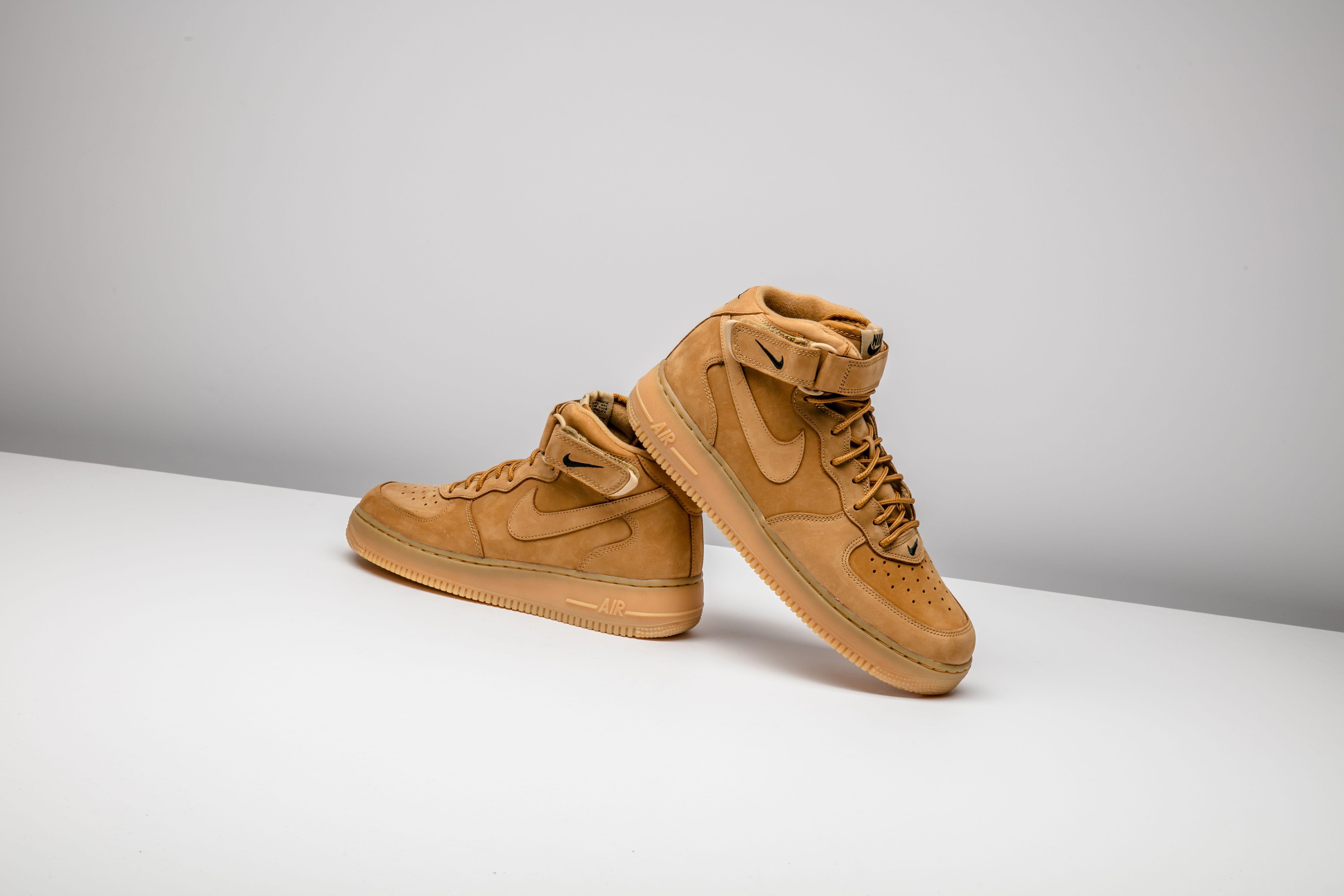 Nike Air Force 1 Mid 07 Prm Qs Flax 715889 200 Nike Air Air