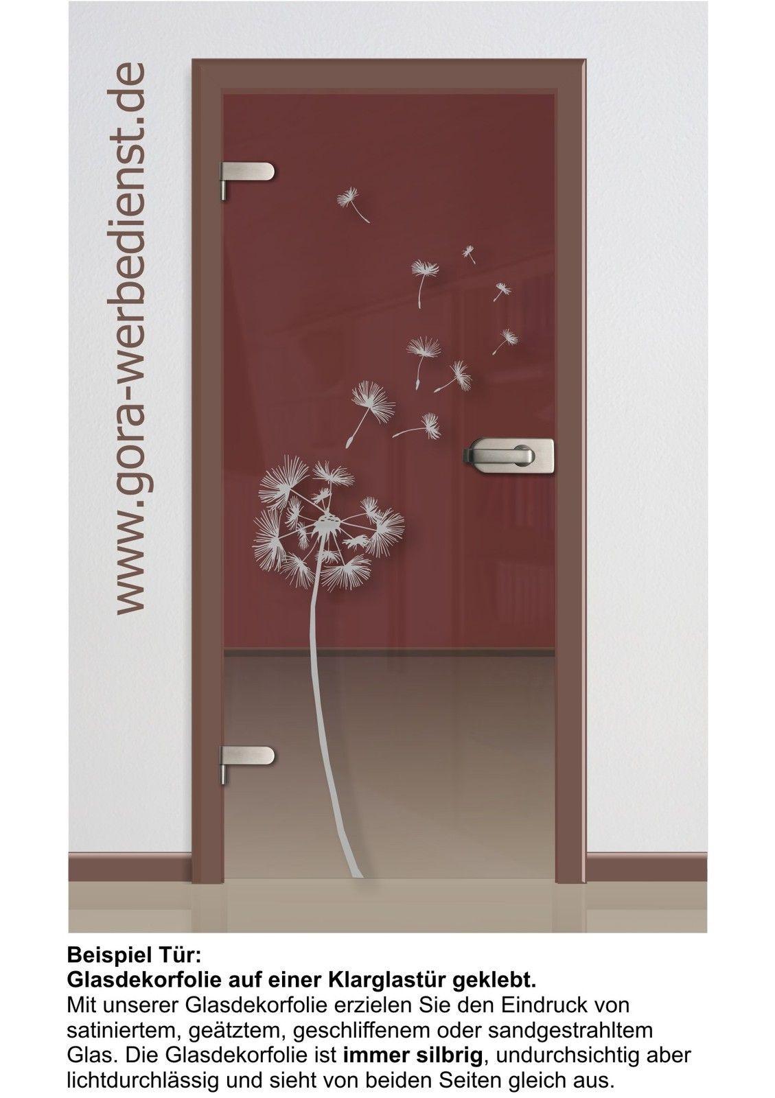 glastür glasdekor satiniert aufkleber folie sticker pflanzenmotiv, Wohnzimmer