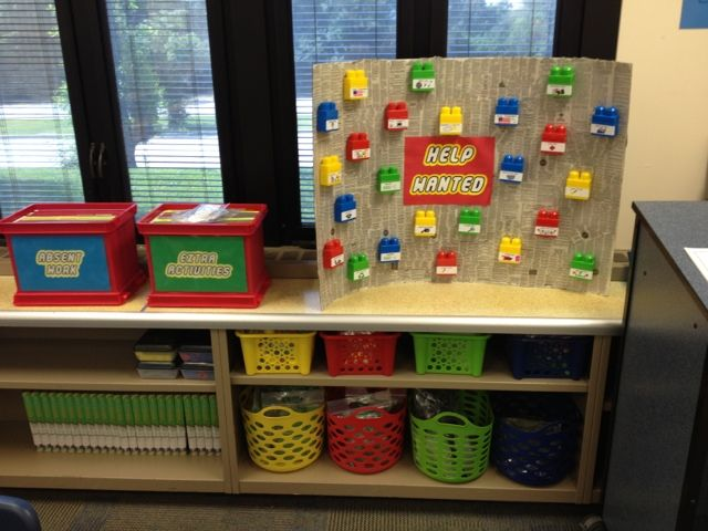 Here in the Waiting Place: My LEGO classroom! | Lego Classroom ...