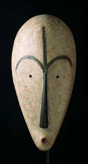 Ngil Mask by the Fang People of Gabon Google images, Masking and