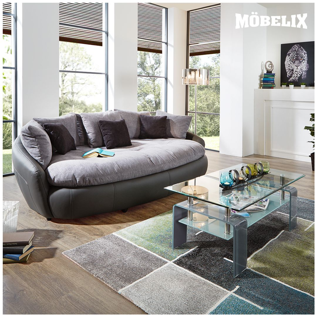 Mega Ist Das Sofa Und Wird Wohnzimmer Mit Dem Megasofa
