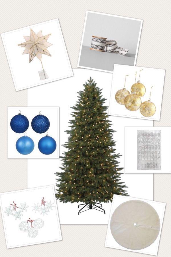 Christmas Tree Inspiration  See my Mood Board Mood boards
