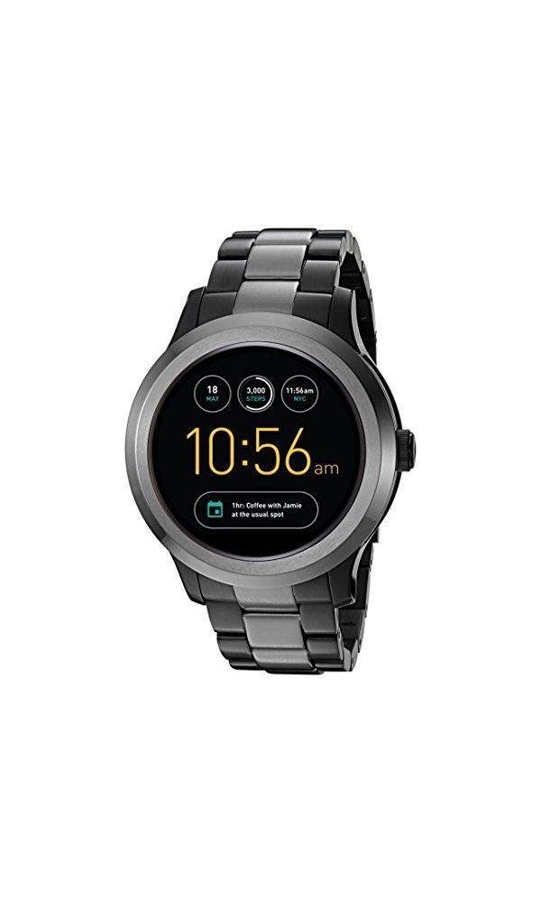 275 Fossil Q Founder Gen 2 Touchscreen Two Tone Gunmetal Stainless Steel Smartwatch From Fossil So You Want A Watch With M Smart Watch Touch Screen Watches