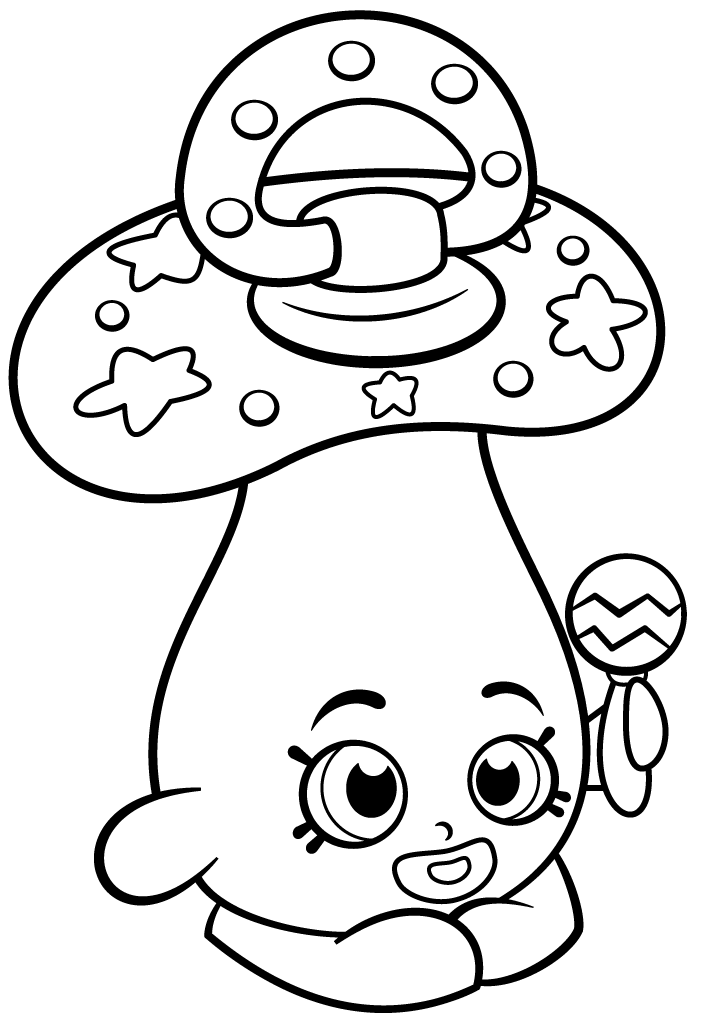 Pin By ColoringsWorld On Shopkins Coloring Pages