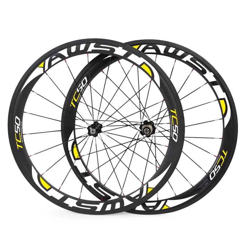 28 Model Decals Selection 50mm Carbon Wheels Clincher Surper High Quality 23mm 25mm Wide 50mm Dept 3k Ud Matte Road Bicycle Bikes Road Bike Wheels Bike Wheel