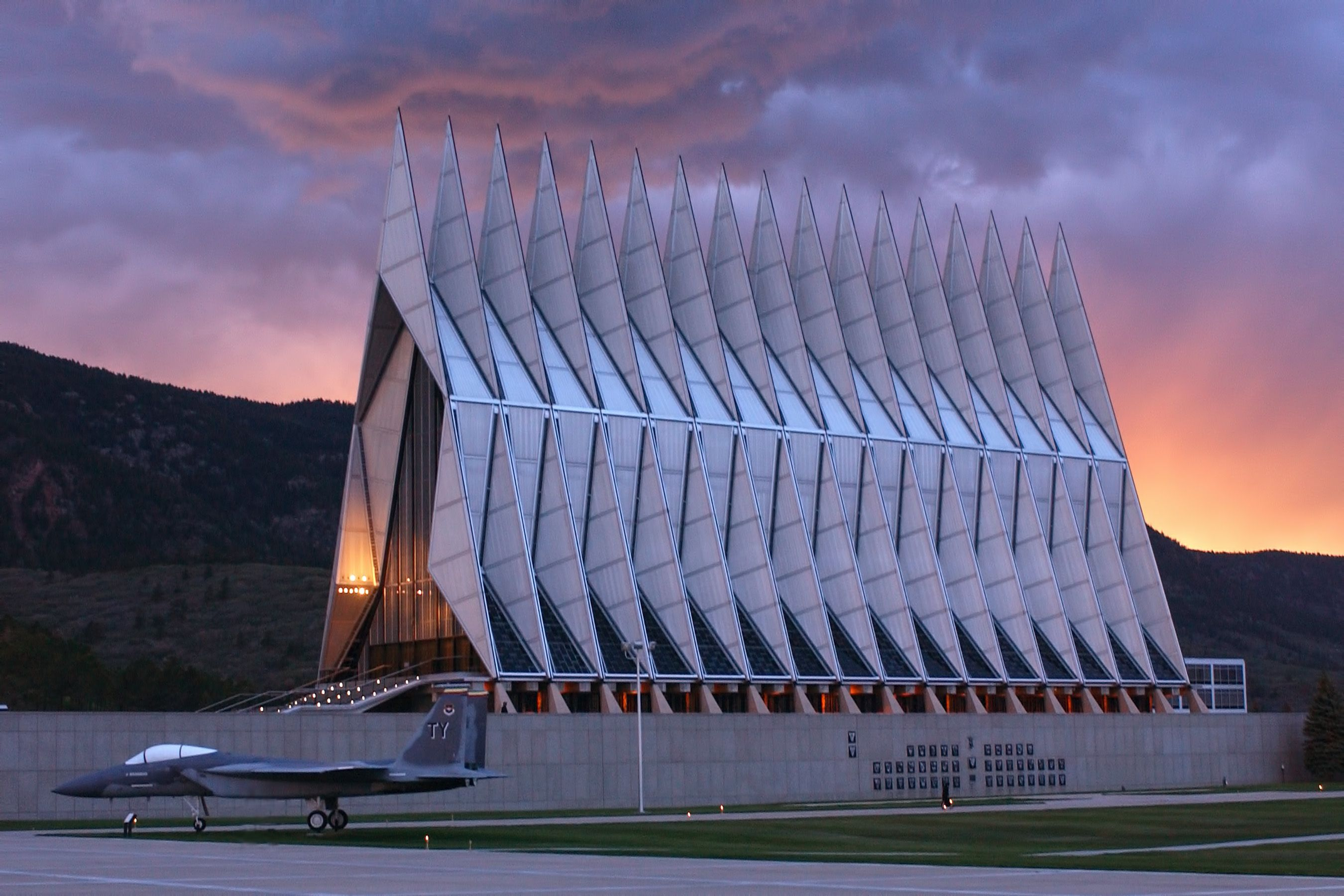 US Air Force Academy Cadet Chapel