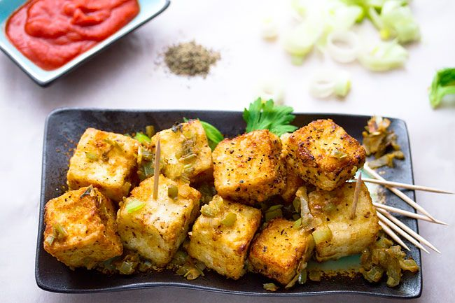 Vegan chinese salt and pepper tofu food mostly vegetarian chinese salt and pepper tofu restaurant style sub tamari for soy sauce forumfinder Image collections
