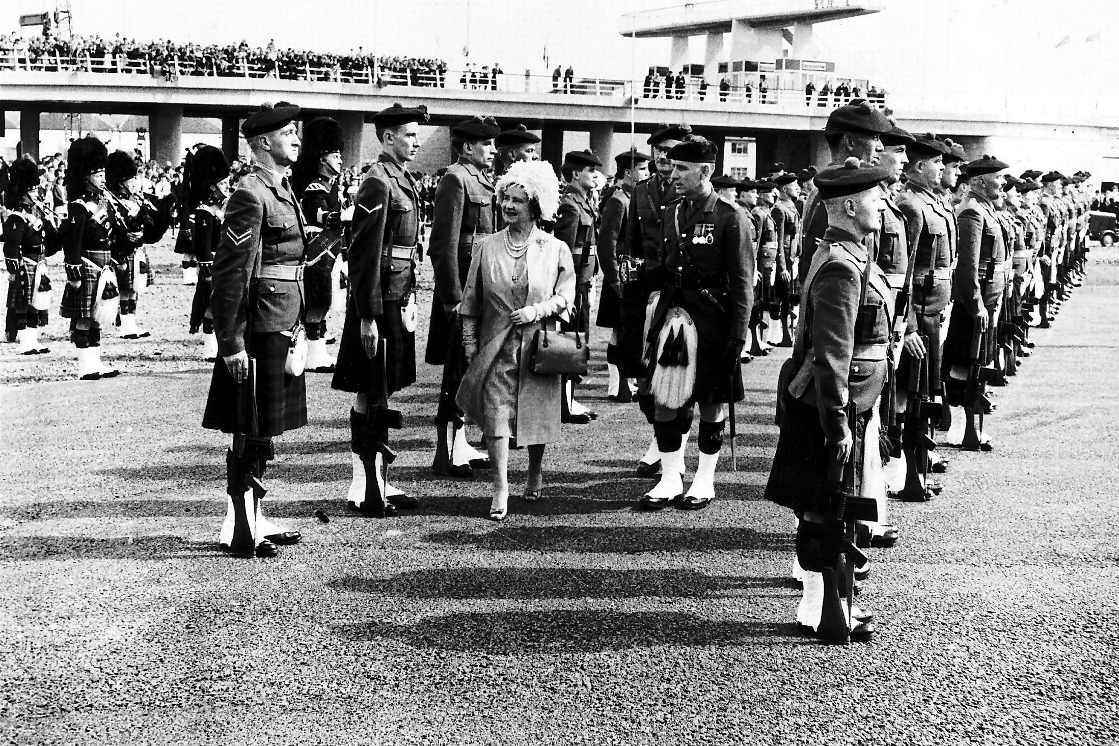 Image result for Queen motheropening the tay road bridge