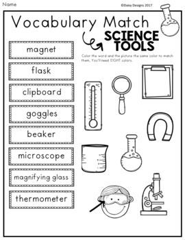 science tools vocabulary activities free sampler weather science tools vocabulary. Black Bedroom Furniture Sets. Home Design Ideas
