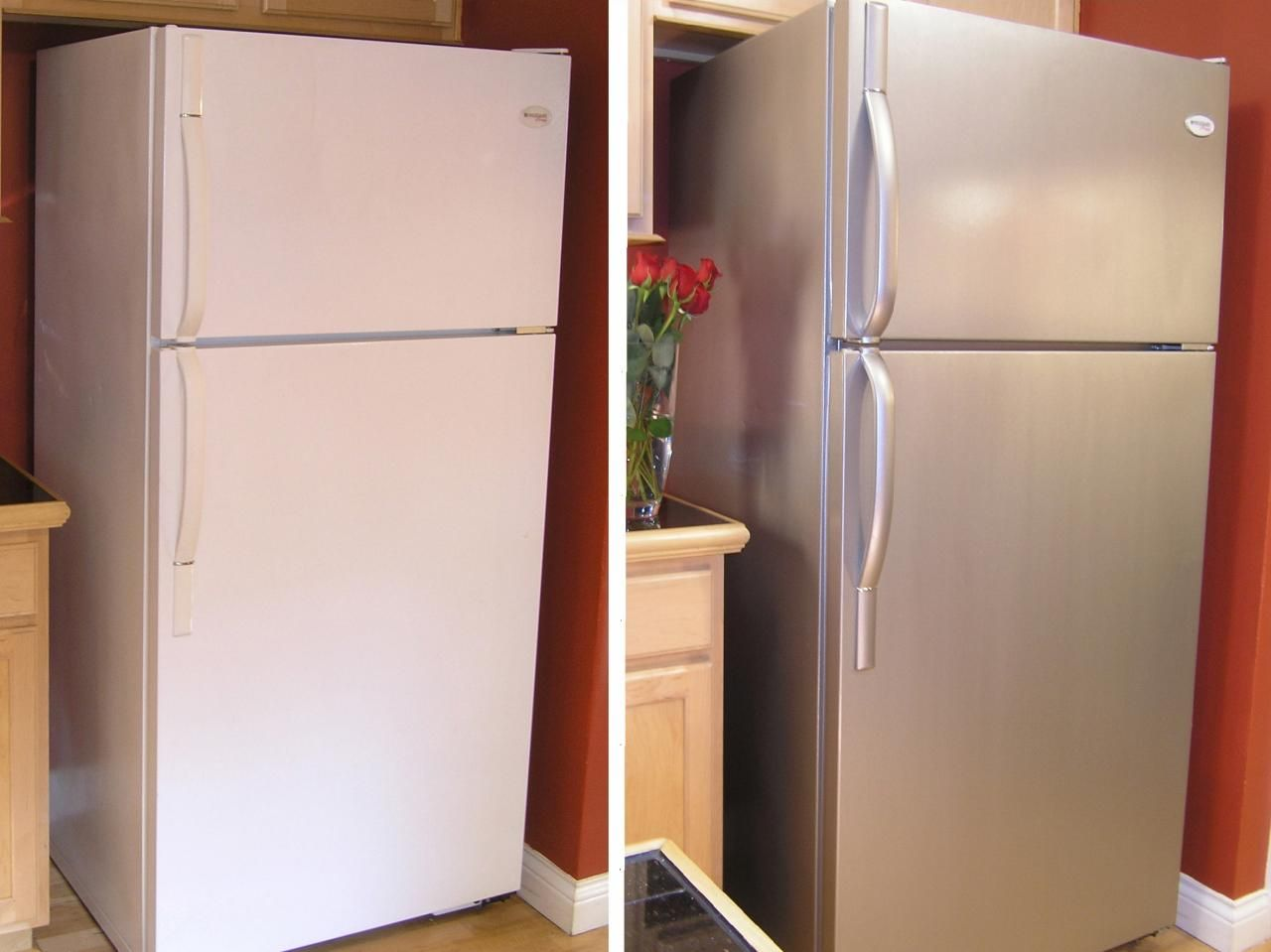 Stainless Steel Paint for appliances (and maybe countertop