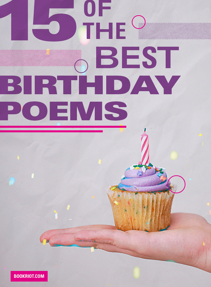 The Best Birthday Poems for HeartTouching Celebrations